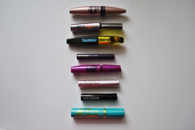 8 mascara comparisons